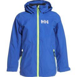 Helly Hansen RIGGING RAIN JACKET Kurtka hardshell olympian blue. Niebieskie kurtki chłopięce sportowe marki bonprix, z kapturem. W wyprzedaży za 356,15 zł.