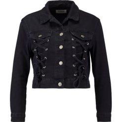 Kurtki i płaszcze damskie: New Look Petite PETITE CORSET Kurtka jeansowa black