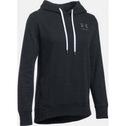 Bluzy damskie: Under Armour Bluza damska Fav Fleece PO Left Chest czarna r.M (1302045-001)