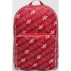 Adidas Originals - Plecak. Czerwone plecaki damskie adidas Originals, z materiału. W wyprzedaży za 129,90 zł.