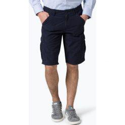 Bermudy męskie: BOSS Casual - Spodenki męskie – Sebas-Shorts-D, niebieski
