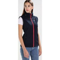 Icepeak LEONIE Kurtka Softshell dunkelblau. Niebieskie kurtki damskie softshell marki Icepeak, z elastanu. W wyprzedaży za 269,25 zł.