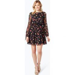 Tommy Jeans - Sukienka damska, czarny. Czarne sukienki hiszpanki Tommy Jeans, l, w kwiaty, z denimu. Za 429,95 zł.