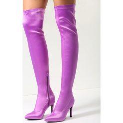 Fioletowe Kozaki Proud Cate. Fioletowe buty zimowe damskie marki NEWFEEL, z poliesteru, do biegania. Za 149,99 zł.