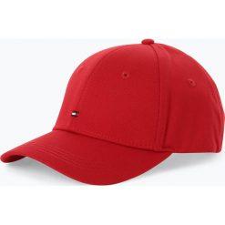 Tommy Hilfiger - Damska czapka z daszkiem, czerwony. Czerwone czapki z daszkiem damskie TOMMY HILFIGER. Za 139,95 zł.