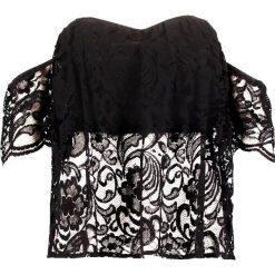 Bluzki asymetryczne: Bardot LILA Bluzka black
