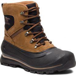 Śniegowce SOREL - Buxton Lace 1760181257  Delta/Black. Brązowe śniegowce męskie Sorel, z gumy. Za 529,99 zł.
