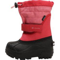 Columbia POWDERBUG PLUS II Śniegowce wild salmon/rosewater. Szare buty zimowe damskie marki Columbia, ze skóry ekologicznej. W wyprzedaży za 171,75 zł.