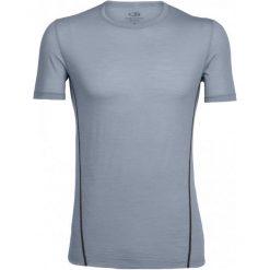 Odzież termoaktywna męska: Icebreaker Koszulka Termoaktywna Z Krótkim Rękawem Mens Aero Ss Crewe Mineral/Monsoon Xl
