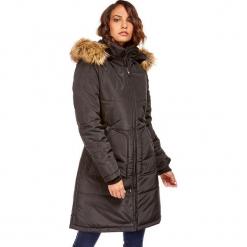 Płaszcz w kolorze czarnym. Czarne płaszcze damskie zimowe marki Snowie Collection, s. W wyprzedaży za 227,95 zł.