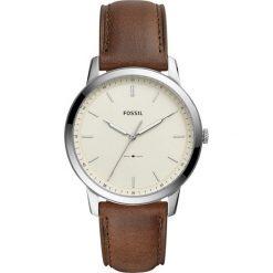Fossil - Zegarek FS5439. Różowe zegarki męskie marki Fossil, szklane. Za 569,90 zł.