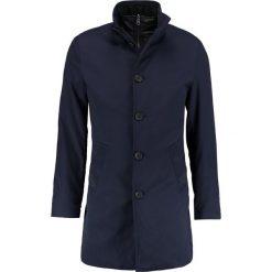 Płaszcze męskie: Bruun & Stengade FRANKFURT Krótki płaszcz navy