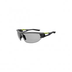 Okulary przeciwsłoneczne na rower fotochromowe XC 120 KAT. 1 - 3. Szare okulary przeciwsłoneczne damskie aviatory ORAO, z gumy. Za 119,99 zł.