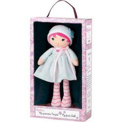 """Przytulanki i maskotki: Przytulanka-lalka """"Azuro"""" w kolorze jasnoniebiesko-różowym – (W)25 cm"""