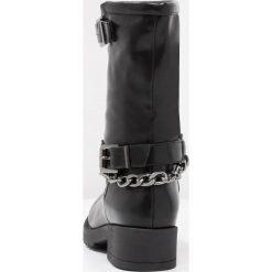 Coolway BROOK Kowbojki i Buty motocyklowe black. Czarne buty zimowe damskie marki Coolway, z materiału. W wyprzedaży za 209,30 zł.