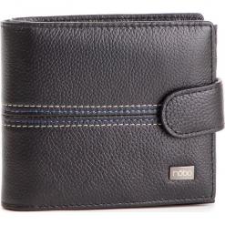 Duży Portfel Męski NOBO - NPUR-MG0040-C020 Czarny. Czarne portfele męskie Nobo, ze skóry. W wyprzedaży za 139,00 zł.