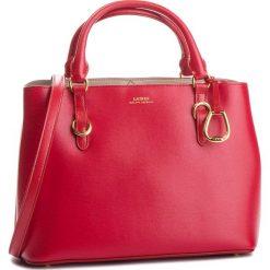 Torebka LAUREN RALPH LAUREN - Bennington 431693831004 Red/Porcini. Czerwone torebki klasyczne damskie marki Reserved, duże. Za 1449,90 zł.