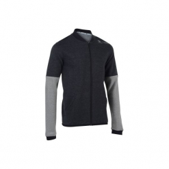 Bluza Soft 500 Ciemnoszara. Szare bluzy męskie ARTENGO, xl, z bawełny. Za 59,99 zł.