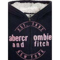 Abercrombie & Fitch FULLZIP Kurtka przejściowa navy. Niebieskie kurtki chłopięce przejściowe Abercrombie & Fitch, z bawełny. W wyprzedaży za 231,20 zł.