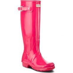 Kalosze HUNTER - Org Tall Gloss WFT1000RGL  Bright Pink. Czerwone buty zimowe damskie Hunter, z kauczuku. Za 579,00 zł.