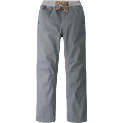 Chinosy chłopięce: Spodnie chino z miękkim ściągaczem bonprix dymny szary