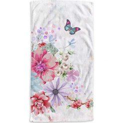 """Kąpielówki męskie: Ręcznik plażowy """"Saartje"""" z kolorowym wzorem"""