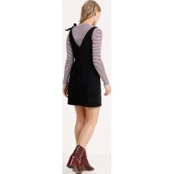 Sukienki hiszpanki: Noisy May Petite NMBELLA SHORT KNOT TIE DRESS Sukienka jeansowa black