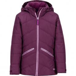"""Kurtka narciarska """"Val D'Sere"""" w kolorze fioletowym. Fioletowe kurtki dziewczęce przeciwdeszczowe marki Jack Wolfskin, z hardshellu. W wyprzedaży za 222,95 zł."""