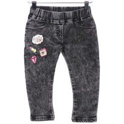 Primigi Jeansy Dziewczęce 104 Czarny. Czarne jeansy dziewczęce Primigi, z jeansu. W wyprzedaży za 109,00 zł.