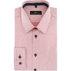 Koszula MICHELE 16-06-01-K. Brązowe koszule męskie jeansowe marki Giacomo Conti, m, z klasycznym kołnierzykiem, z długim rękawem. Za 229,00 zł.