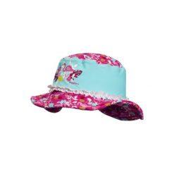 Playshoes  Kapelusz UV Flamingo - turkusowy - Gr.Moda (6 - 24 miesięcy ). Niebieskie czapeczki niemowlęce marki Playshoes, z elastanu. Za 69,00 zł.