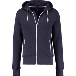Bluzy męskie: GANT CONTRAST SHIELD FULL ZIP Bluza rozpinana evening blue