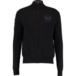 Swetry rozpinane męskie: La Martina FULL ZIP Kardigan black