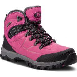 Trekkingi ELBRUS - Mandoza Mid Wp Burgundy/Dark Grey/Violet. Czerwone buty trekkingowe damskie marki ELBRUS. W wyprzedaży za 349,00 zł.