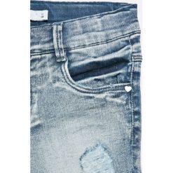 Name it - Szorty dziecięce 128-164 cm. Szare szorty jeansowe damskie Name it, z haftami, casualowe. W wyprzedaży za 99,90 zł.