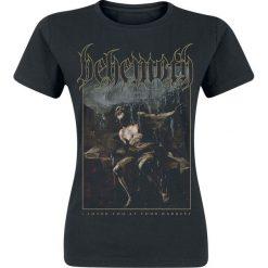 Behemoth ILYAYD Cover Koszulka damska czarny. Czarne bluzki z odkrytymi ramionami Behemoth, s, z nadrukiem, z dekoltem na plecach. Za 74,90 zł.