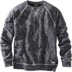 Bluza z reglanowymi rękawami bonprix czarny melanż. Czarne bejsbolówki męskie bonprix, m, melanż. Za 69,99 zł.