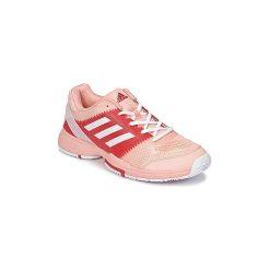 Buty do tenisa  adidas  BARICADE CLUB W. Czerwone buty do tenisu damskie Adidas. Za 279,20 zł.