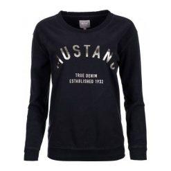 Bluzy rozpinane damskie: Mustang Bluza Damska M Ciemnoniebieski