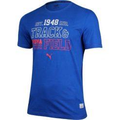 Puma Koszulka męska Style Athl Tee Surf the web niebieska r. M (836598 16). Niebieskie t-shirty męskie Puma, m. Za 70,58 zł.