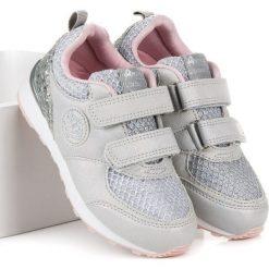 Buty dziecięce: Trampki z brokatem american CHESNEY