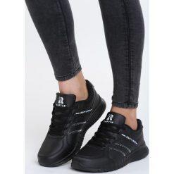 Czarne Buty Sportowe Look Lovely. Czarne buty sportowe damskie marki Born2be, z materiału. Za 89,99 zł.