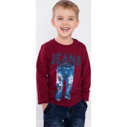 Bordowa bluza chłopięca NDZ9049. Czerwone t-shirty chłopięce Fasardi. Za 39,00 zł.