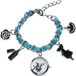 Zegarki damskie: Alicja w Krainie Czarów Rabbit Zegarek na rękę srebrny