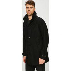 G-Star Raw - Płaszcz. Czarne płaszcze na zamek męskie G-Star RAW, l, z bawełny, retro. W wyprzedaży za 1199,00 zł.