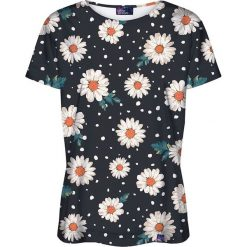 Colour Pleasure Koszulka damska CP-030 118 czarno-biała r. M/L. T-shirty damskie Colour pleasure, l. Za 70,35 zł.