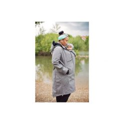 Kurtki ciążowe: Hoppediz Płaszcz 4w1 szary