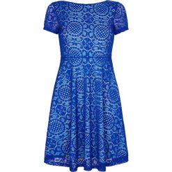 Sukienki hiszpanki: Koronkowa sukienka z krótkim rękawem