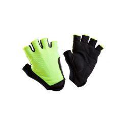 Rękawiczki ROADR 500. Żółte rękawiczki damskie B'TWIN, z materiału. Za 29,99 zł.