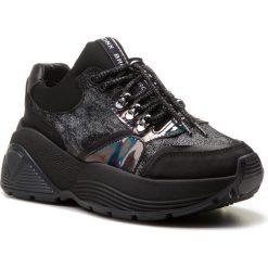 Sneakersy BRONX - 66232-BM BX 1522 Black 01. Czarne sneakersy damskie marki Bronx, z materiału. W wyprzedaży za 419,00 zł.